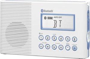 sangean h2-2 shower radio with bluetooth