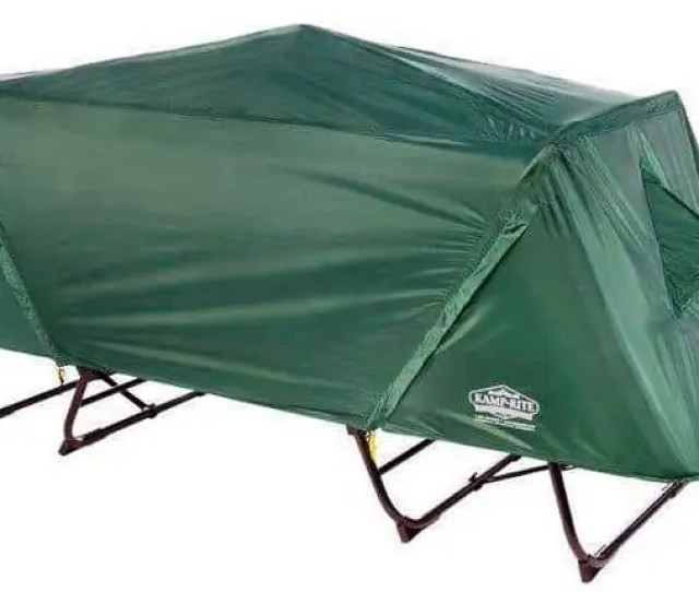 Kamp Rite Oversize Tent Cot Set With The Rain Fly