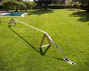 slackline without trees