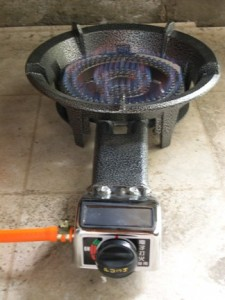 I presently have a Weber Spirit natural gas grill on our concrete patio I am trying to