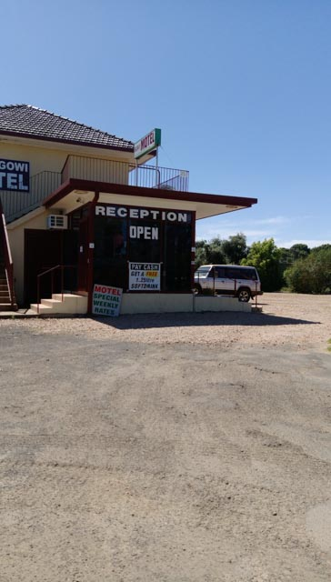 Motel in Goolgowi