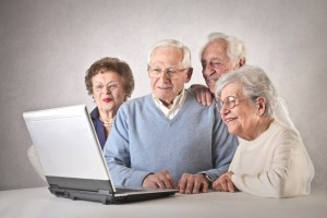 old white people on a computer