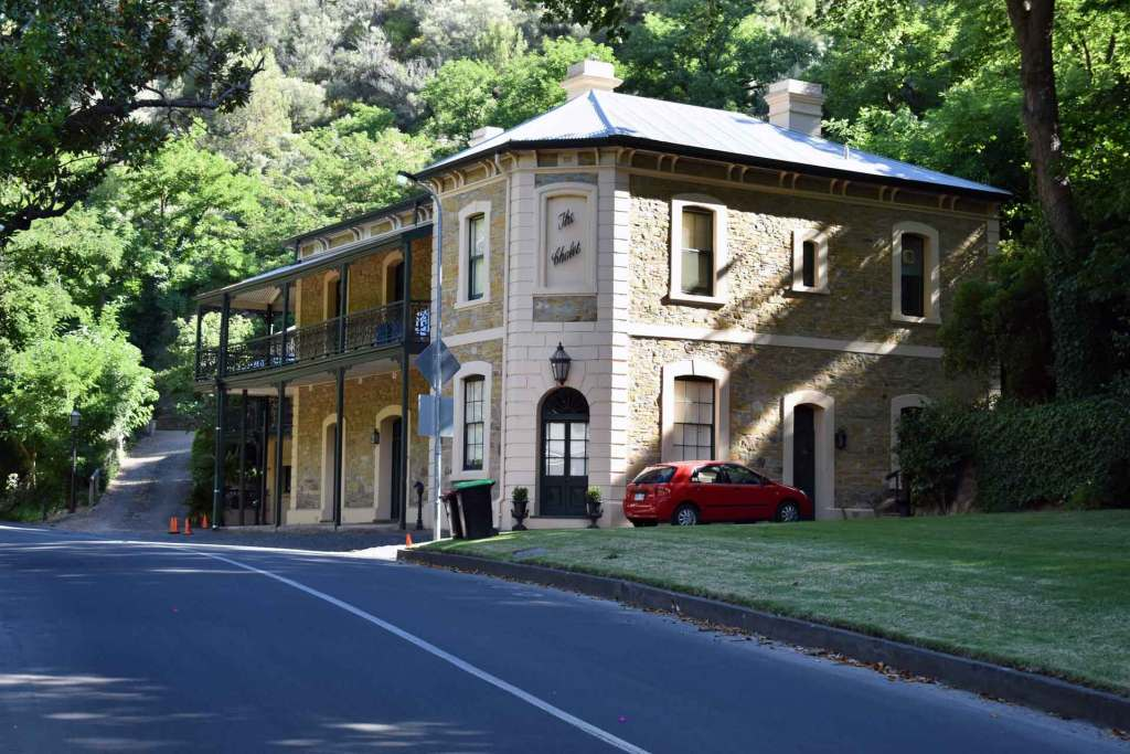 """The Chalet"" - An iconic property along Waterfall Gully road"