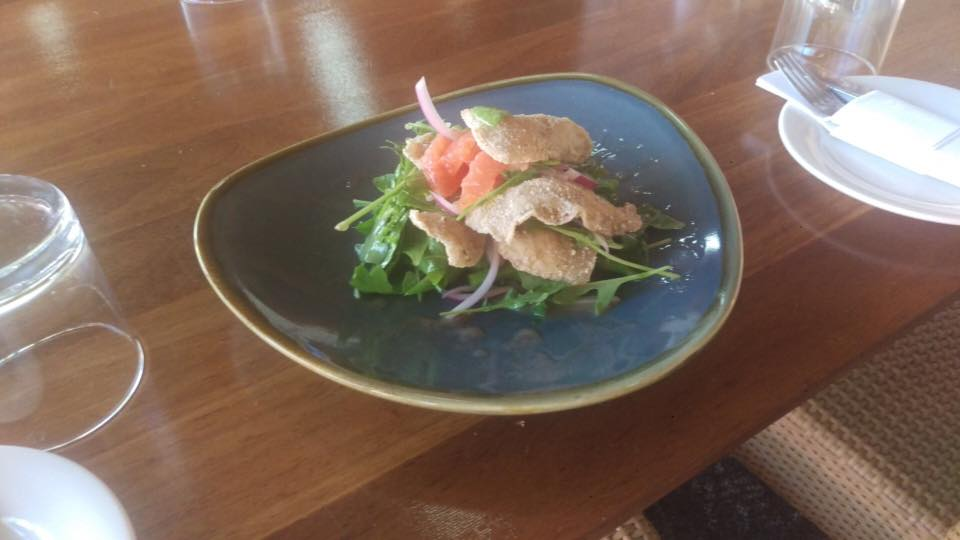 Carp Belly Salad - Photo from Cafe Mannum Facebook page