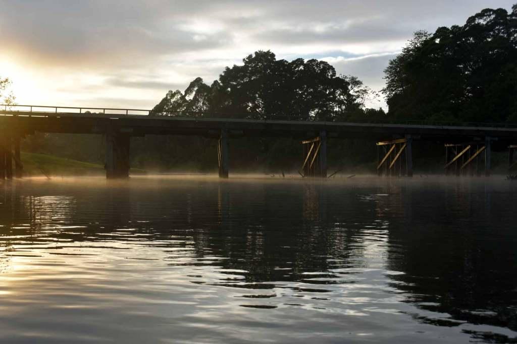 Lavenders Bridge, Bellinger River - NSW