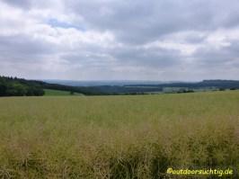zwischen Hirschberg und dem Herhasee