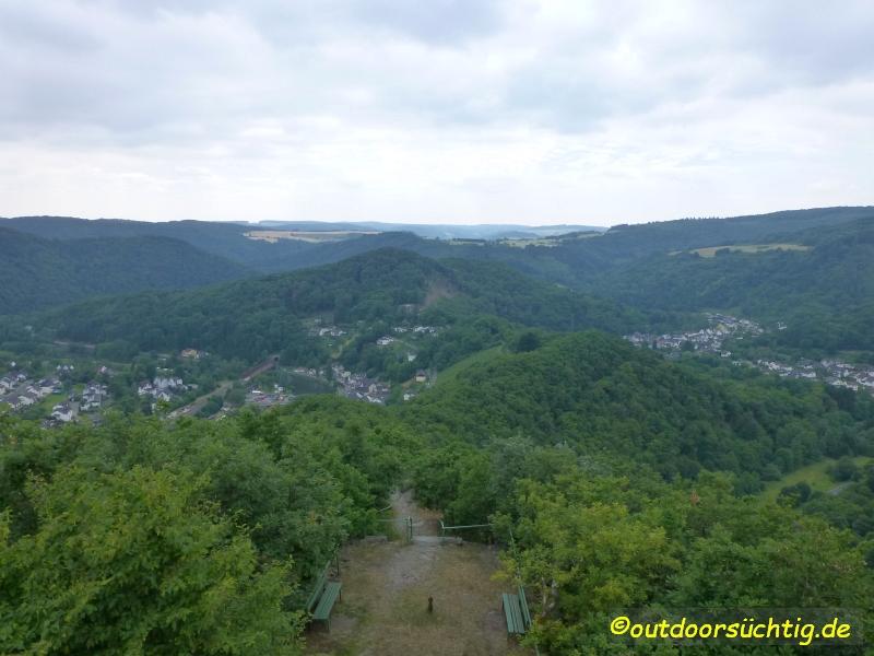 Die Aussicht vom Goethepunkt sollte man sich nicht engehen lassen