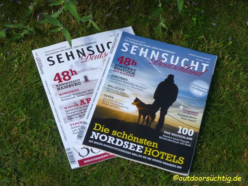 Sehnsucht Deutschland, die Ausgaben 1 und 2/2014