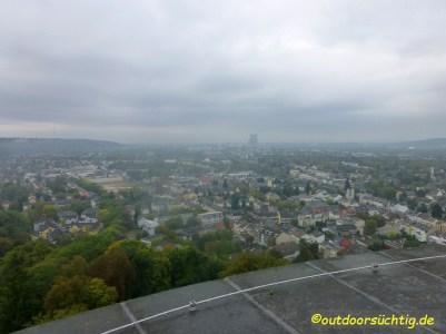 leider etwas diesiger Blick Richtung Bonn