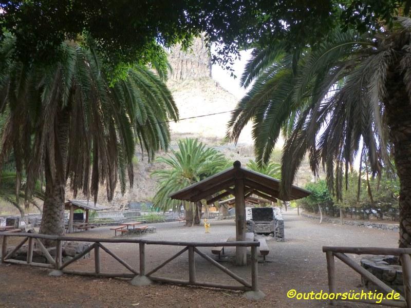 Picknickplatz Teneriffa