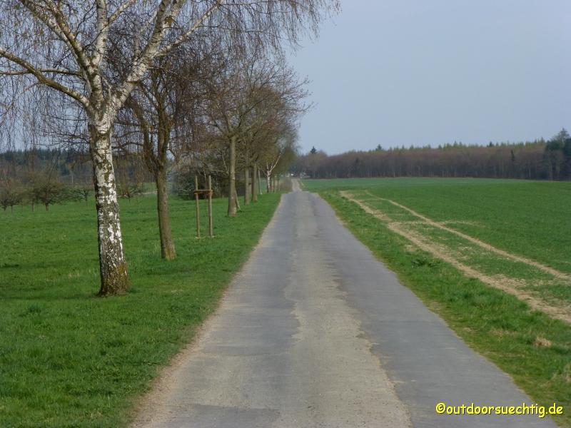 """Die """"Zielgerade"""" - auf dem Weg zurück zum Sportplatz"""