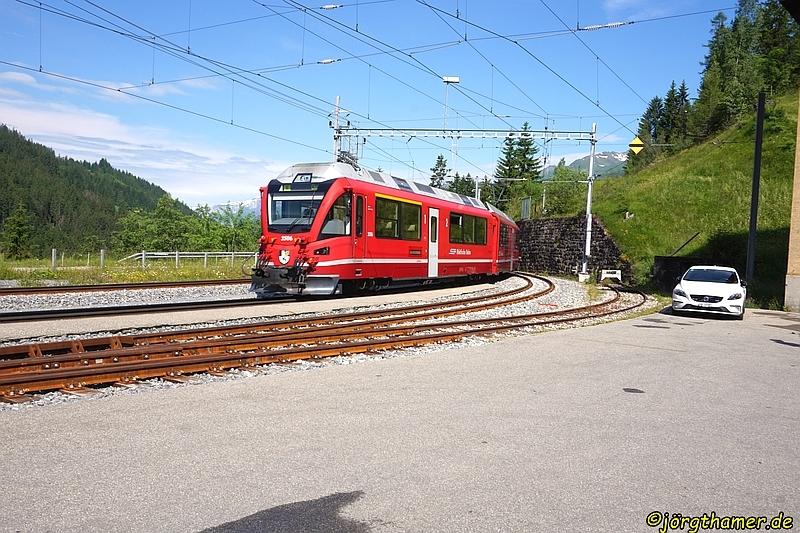 Mit der Rhätischen Bahn nach Langwies