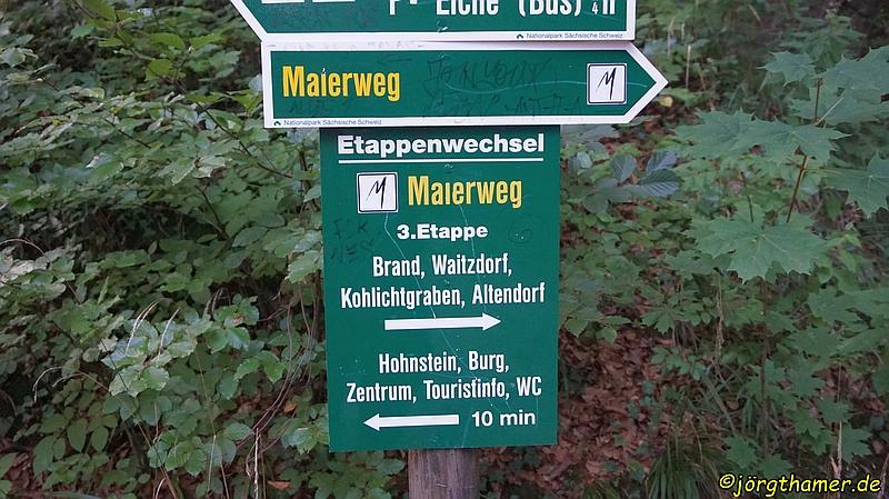 Malerweg Etappe 3 - von Hohnstein nach Altendorf