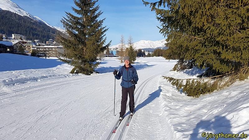 Langlauf in Davos - Skikurs
