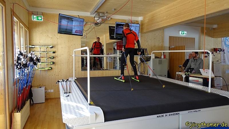 Langlauf Leistungszentrum Davos - Laufband