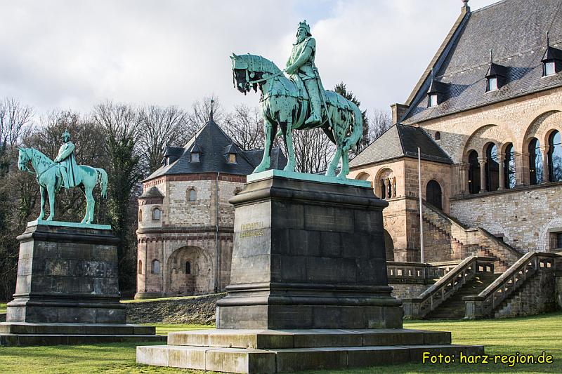 Ausflugsziele im Harz - Kaiserpfalz Goslar