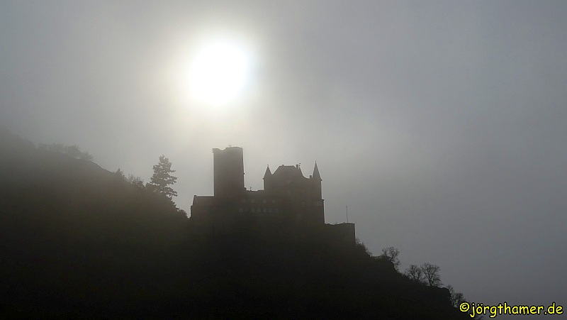 Rheinsteig - Burg Katz
