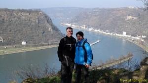Rheinsteig von St. Goarshausen nach Kaub