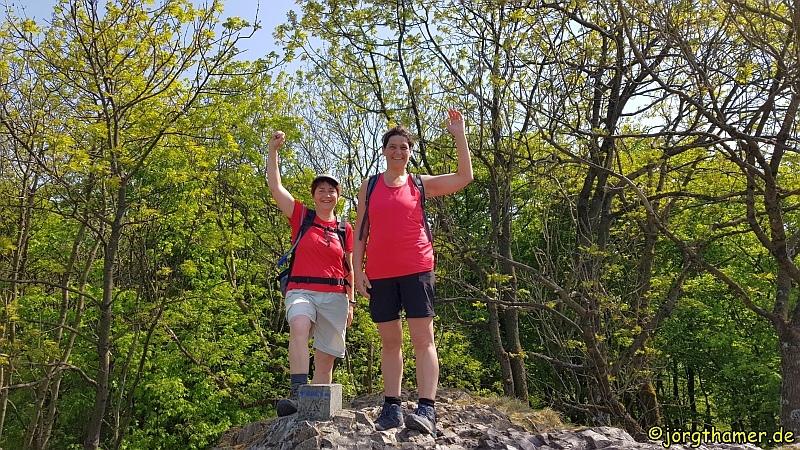 Wandermarathon am Donnersberg - oben