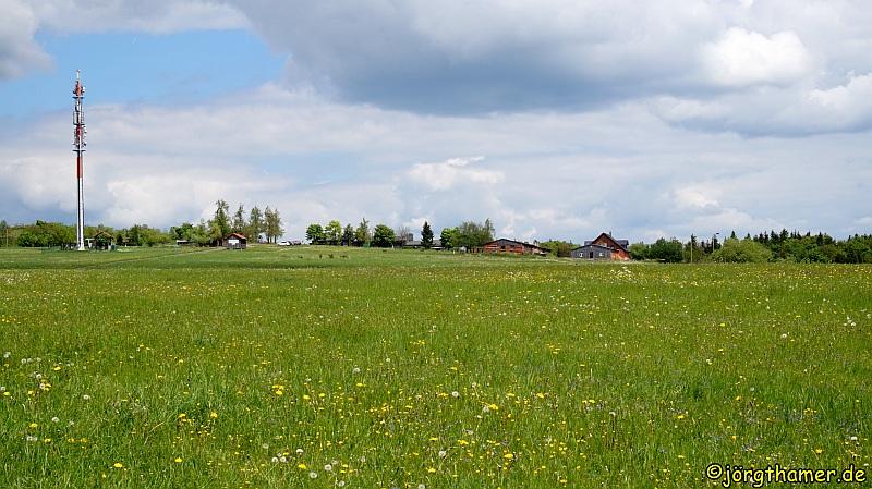 Wandern in der Rhön - Hohe Geba