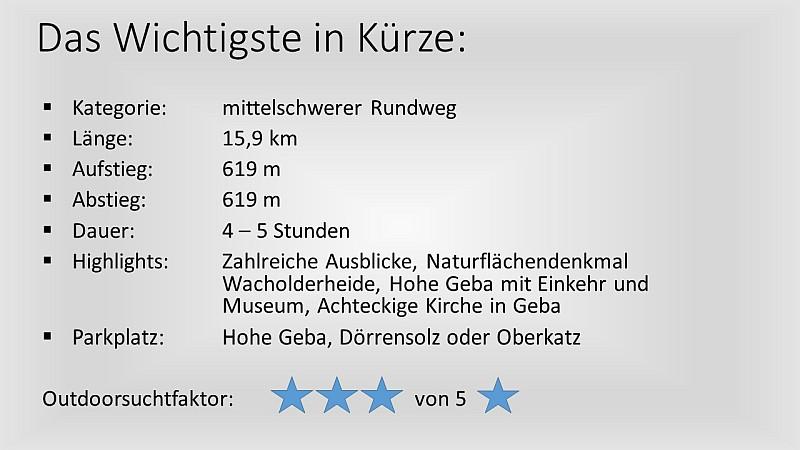 Wandern in der Rhön - Extratour Gebaweg