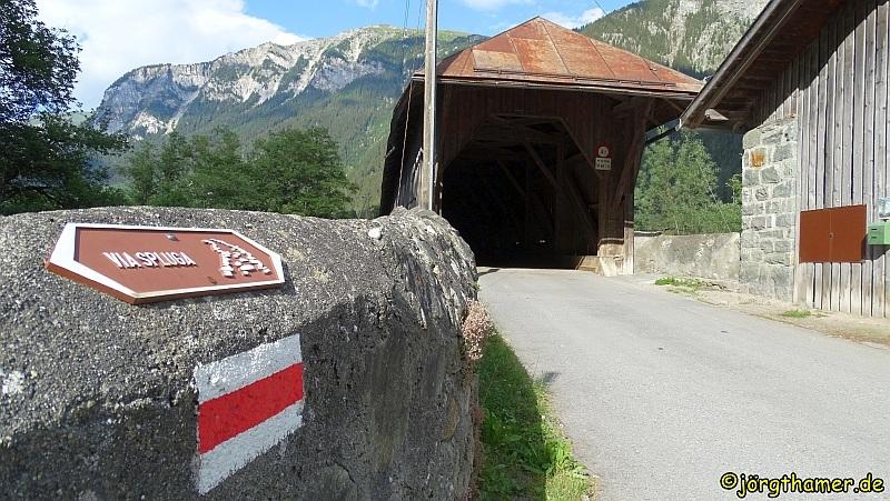 Via Spluga Etappe 1 - Andeer