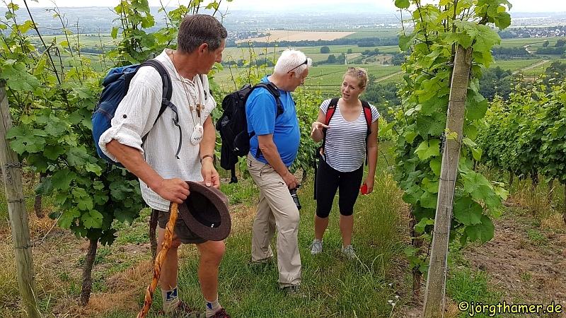 Magazin Wanderbares Deutschland - Ulrich Pramann im Gespräch mit Weinkönigin Tatjana Schmidt
