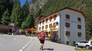 Via Spluga Etappe 2 - Gasthaus Rofflaschlucht