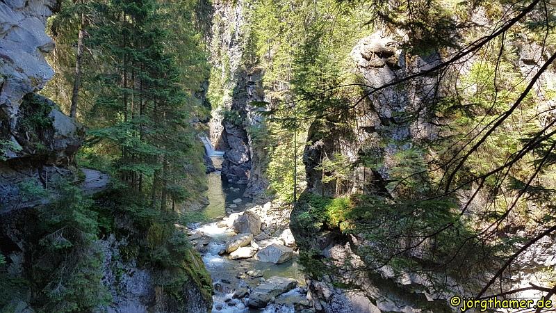 Wasserfall in der Rofflaschlucht