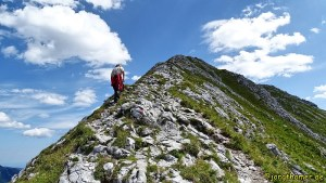 Hochplatte bei Füssen - Gipfelgratt