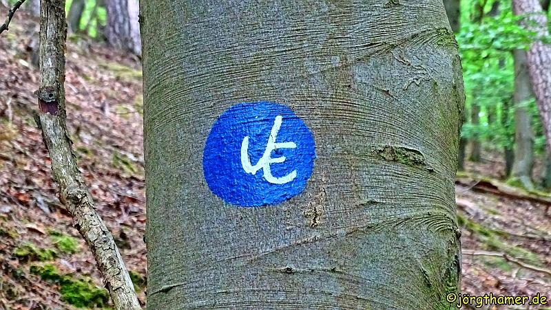 Wegemarkierung Urwaldsteig