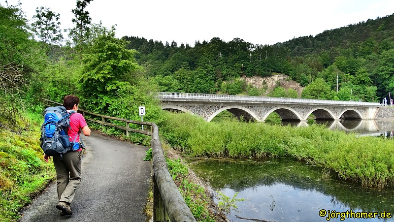 Brücke bei Herzhausen am Edersee