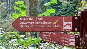 Mullerthal Trail Wegweiser