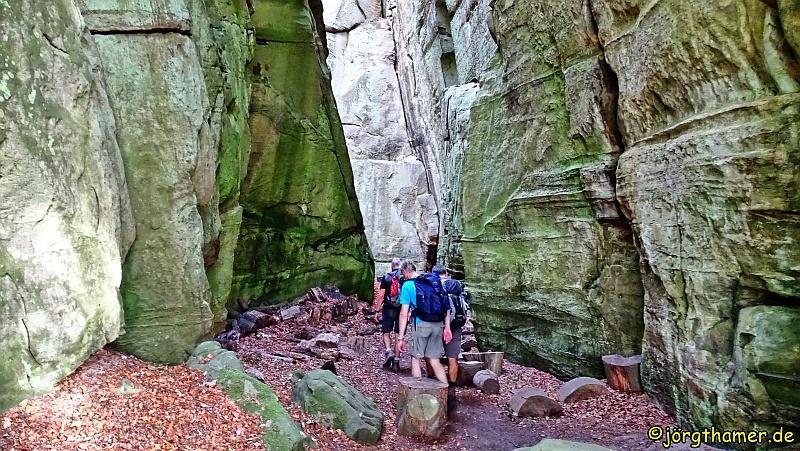 Mullerthal Trail - Felsformationen