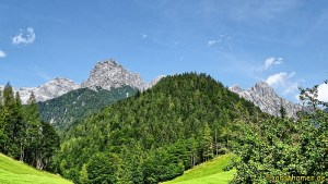 Kitzbüheler Alpen von der Jausenstation Grieseltal aus