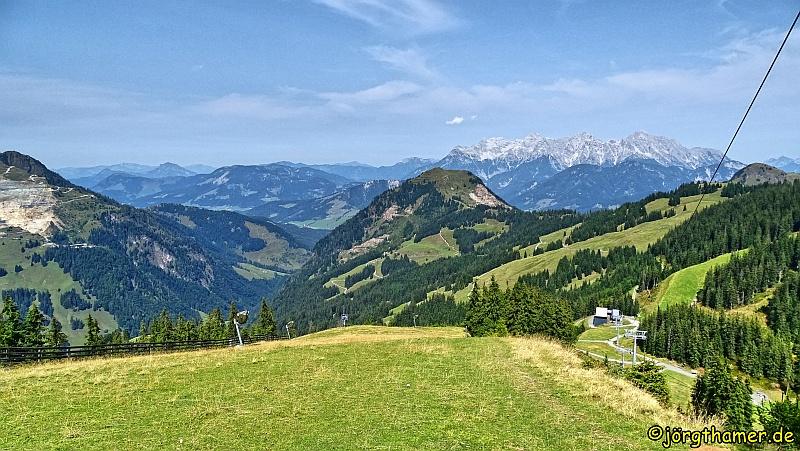Am Reiterkogel - Blick in die Kitzbüheler Alpen