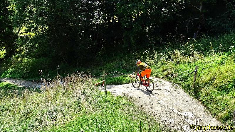 Mountainbiker Saalbach Hinterklemm