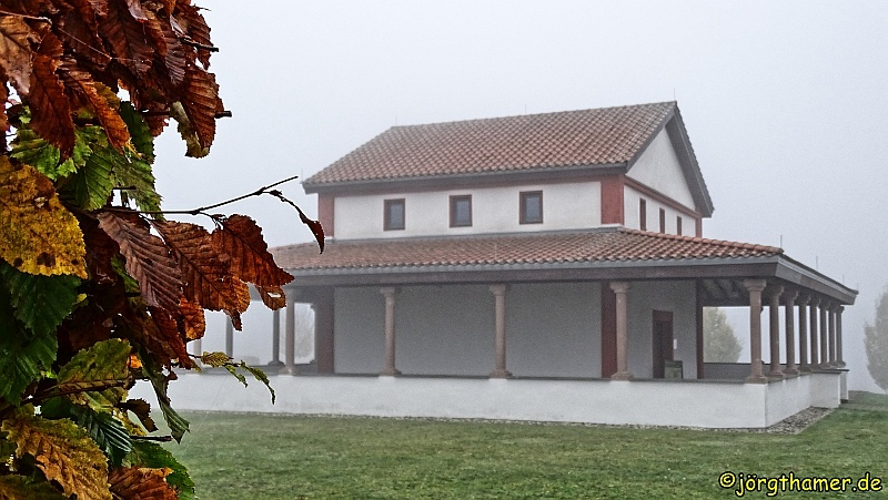 Römischer Tempel auf dem Martberg bei Pommern