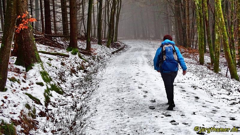 Wandern im Taunus - bei jedem Wetter