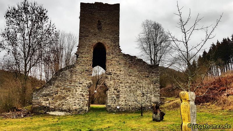 Kirchenruine Landstein im Taunus