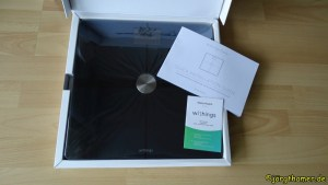 Withings Body+ Unboxing
