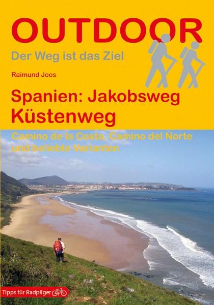 Buchcover Jakobsweg Küstenweg