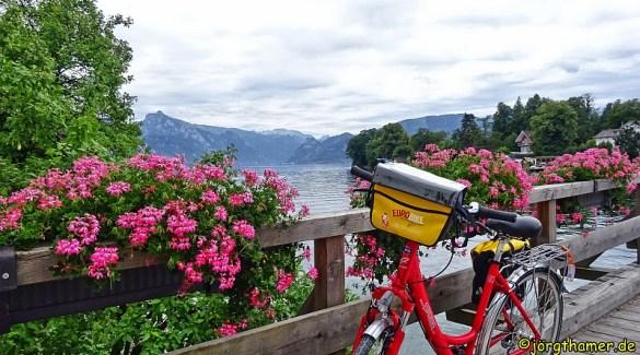 Radfahren von See zu See im Salzkammergut