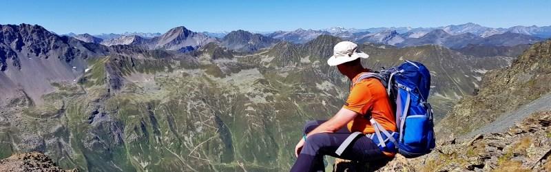 Aussicht Schwarzhornfurgga