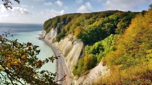 Wandern auf Rügen - Kreidefelsen