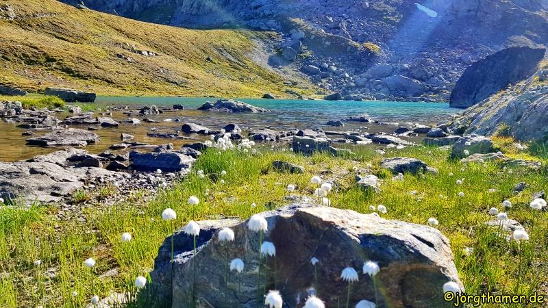 Bergsee Albula-Alpen