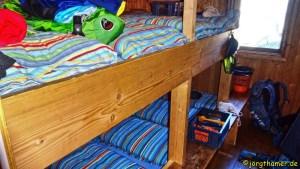 Grialetschhütte Zimmer