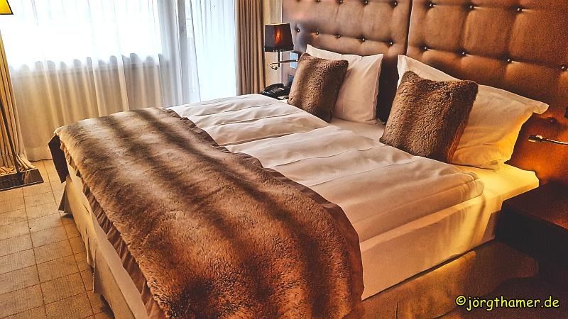 Betten im Hotel Grischa Davos