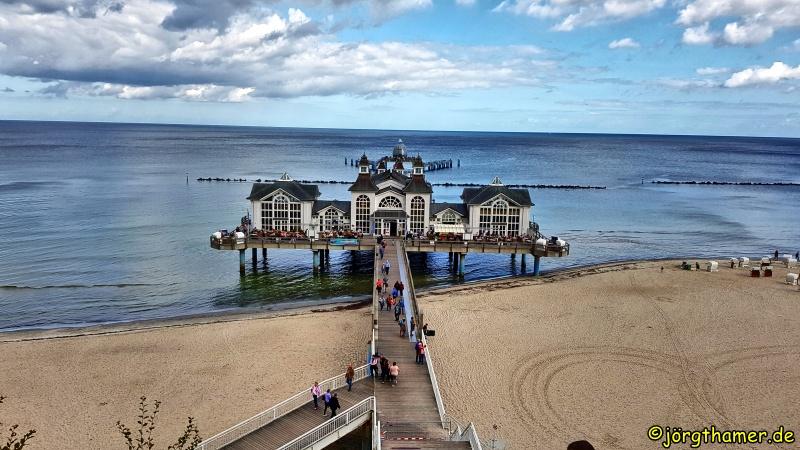 Wandern auf Rügen - Seebrücke Ostseebad Sellin