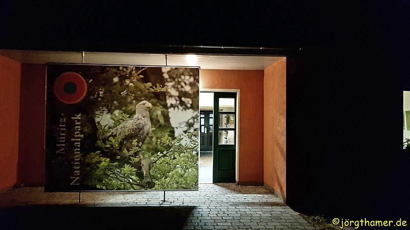 Nationalparkamt Schwarzenhof im Morgengrauen